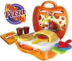 Saffire Pizza Suitcase Set, multicolor