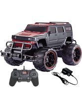 Saffire Off-Road 1: 20 Hummer Monster Racing Car, black