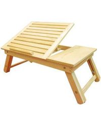 Multi-utility Wooden Folding Table,  cream
