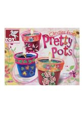 Toy Kraft Candles From Pretty Pots, multicolor