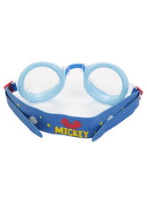 Disney Mickey Kid Goggles Set(Goggle, Nose Clip, Earplugs) Three In One, blue