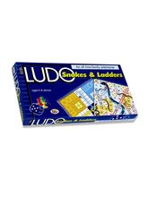 Ekta Ludo And Snacks N Ladders, multicolor