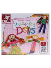 Toy Kraft Woollen Rag Doll, multicolor