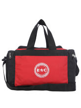 Estrella Companero Vigo Travel Bag For Unisex, black and red