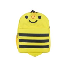 Bleu School Bag Ideal for Kids, yellow and black