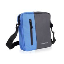 Kooptopp Sling Bag For Unisex, grey and blue