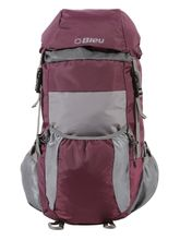 Bleu School Bag Ideal for Kids, purple and grey