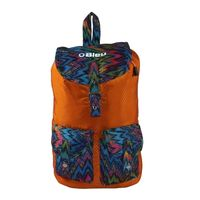 Bleu School Bag Ideal for Kids, orange and multicolor