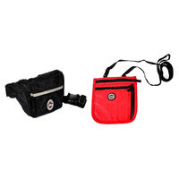 Viaggi Combo Of Money Safe Waist Pouch With Neck Safe, black