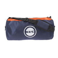 Kvg Vibrant Unisex Gym Bag, navy blue