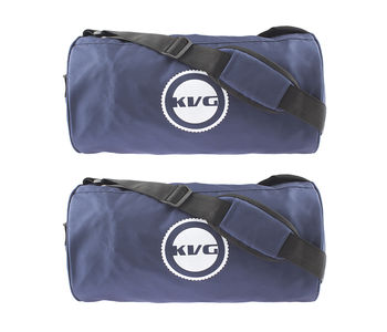 Kvg Unisex Gym Bags Combo, navy blue