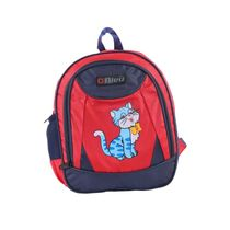 Bleu School Bag Ideal for Kids, blue and red