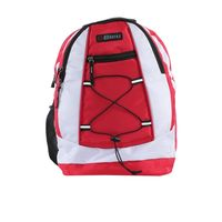 Bleu School Bag Ideal for Kids, red and white