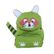 Bleu School Bag Ideal for Kids, parrot green
