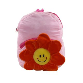 Bleu School Bag Ideal for Kids, pink and red