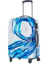 Skybags Riviera 360 Polycarbonate 75 cms Hardsided Suitcase, white