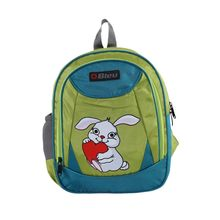 Bleu School Bag Ideal for Kids, green and blue