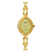 Timex ¬ â €   Classic Analog Women's Watch - ¬ â €   LS05, golden, champagne