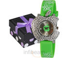 Geneva Kids Green Dial Watch (GAS-Green)