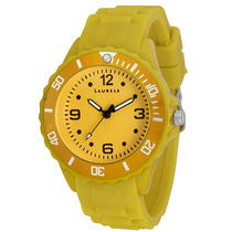 Laurels Ice Series Yellow Kids Watch (LO-IC-0808)