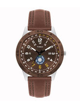 Timex Analog Men Watch - TI000U90300, brown, black