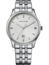 Tommy Hilfiger Analog White Dial Men's Watch-NTH1710283J