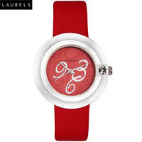 Laurels Premium Princess Women's Watch, white, white