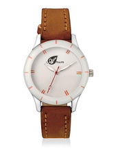 Arum Brown Analog Watch