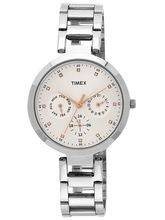 Timex Analog Silver Dial Women's Watch TW000X204