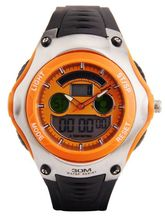 Reebok Intense Digi Sports Watch KA105-I18912, orange, black