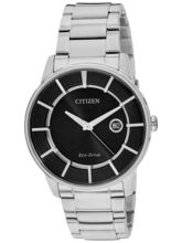 Citizen Eco-Drive Analog Black Dial Men's Watch– AW1260-50E
