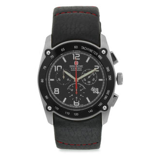 Swiss Military Men's Chronograph Swiss Movement Le...