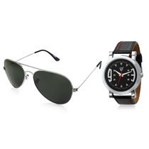 Rico Sordi Set of Mens Watch with Sunglass RSD6-WSG, black, black