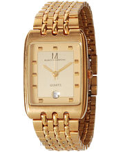 Marco Valentino Rectangle Gents Watch (MV-07G-Dt)