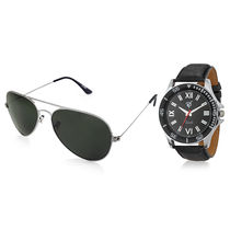 Rico Sordi Set of Mens Watch with Sunglass RSD10-WSG, black, black