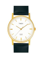 Timex Classics Analog White Dial Men's Watch-A300, white, black