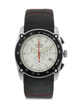 Swiss Military Men's Leather Chronograph Swiss Mov...