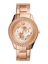 Fossil Es3590 Analog Watch For Women, rose gold, rose gold