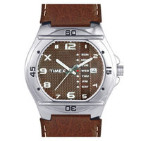 Timex ¬ â €   Fashion Analog Brown Dial Men's Watch-EL04, brown, brown