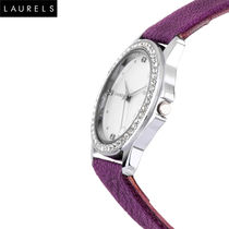 Laurels Fiona Ladies Watch, purple, silver