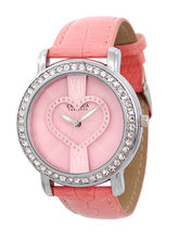 Exotica Fashions Dm Series Analog Watch - For Women, pink, pink