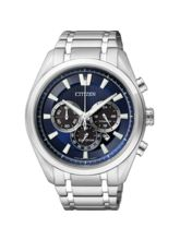 Citizen Gents Watch CA4011-55L, blue, silver