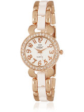 Christie Analog Watch For Women CH-W-C-002, white, white