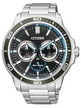 Citizen Sport Analogue Silver Dial Men's Watch– BU2040-56A