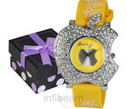 Ladies Fashion Watch (GAB-Yellow)