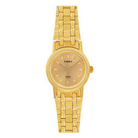 Timex ¬ â €   Analog Gold Dial Women's Watch-B304, golden, light champange