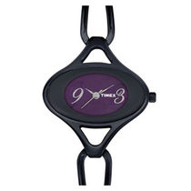 Timex ¬ â €   Aura Analog Women's Watch - ¬ â €   J802 ¬ â €  , black, purple
