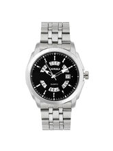 Laurels Aristocrat 5 Analog Black Dial Men's Watch- Lo-Ast-502