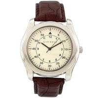 Laurels Original Men Watch Lo-Gt-101, brown, white