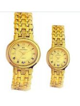 Ex-London Gold Plated Pair Watch (Pair Watch)